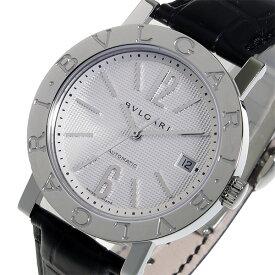 ブルガリ BVLGARI 自動巻き メンズ 腕時計 BB38WSLDAUTO ホワイト【送料無料】