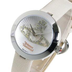 ヴィヴィアン ウエストウッド クオーツ レディース 腕時計 VV150WHCM ホワイト【送料無料】