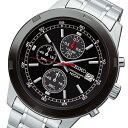 セイコー SEIKO クロノ クオーツ メンズ 腕時計 SKS427P1 ブラック【送料無料】【楽ギフ_包装】