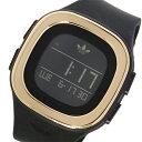 アディダス ADIDAS オリジナルス デンバー ユニセックス 腕時計 時計 ADH3085 ブラック/ピンクゴールド【楽ギフ_包装】