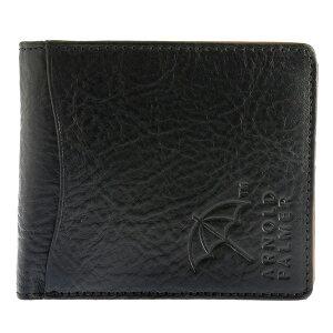 アーノルドパーマーARNOLDPALMER二つ折り財布短財布ユニセックス4AP3186-BKブラック【楽ギフ_包装】