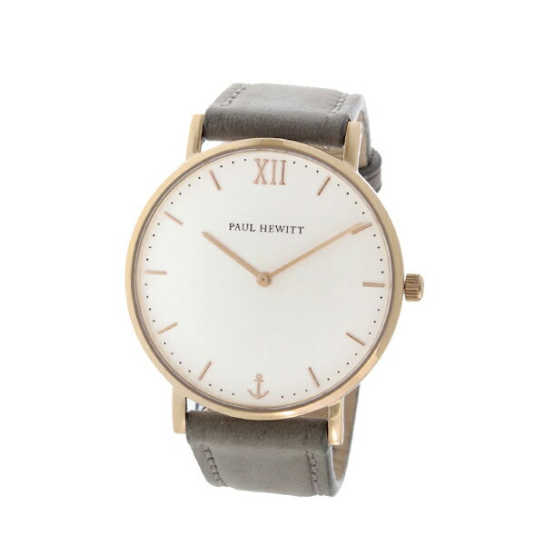 ポールヒューイット Sailor Line 36mm ユニセックス 腕時計 6451714 PHSARSMW13S ホワイト/グレー【送料無料】【楽ギフ_包装】