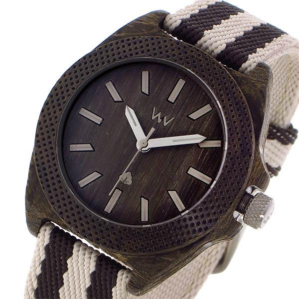 ウィーウッド WEWOOD PHOENIX 38 WENGE GREY クオーツ メンズ 腕時計 9818138 ダークブラウン 国内正規【送料無料】【楽ギフ_包装】