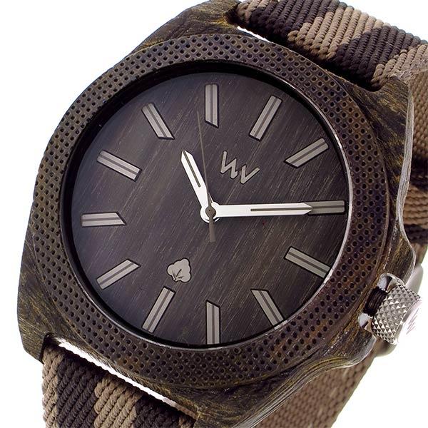 ウィーウッド WEWOOD PHOENIX 46 WENGE EARTH クオーツ メンズ 腕時計 9818139 ダークブラウン 国内正規【送料無料】【楽ギフ_包装】