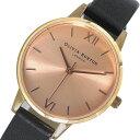 オリビアバートン OLIVIA BURTON 腕時計 OB15MD39 ピンクゴールド×ブラック【送料無料】【楽ギフ_包装】