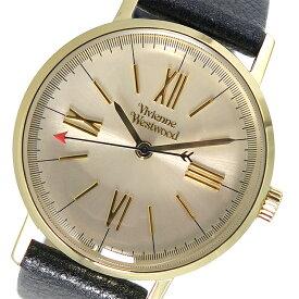 ヴィヴィアンウエストウッド Vivienne Westwood クオーツ レディース 腕時計 VV170GYBK シャンパンゴールド【送料無料】