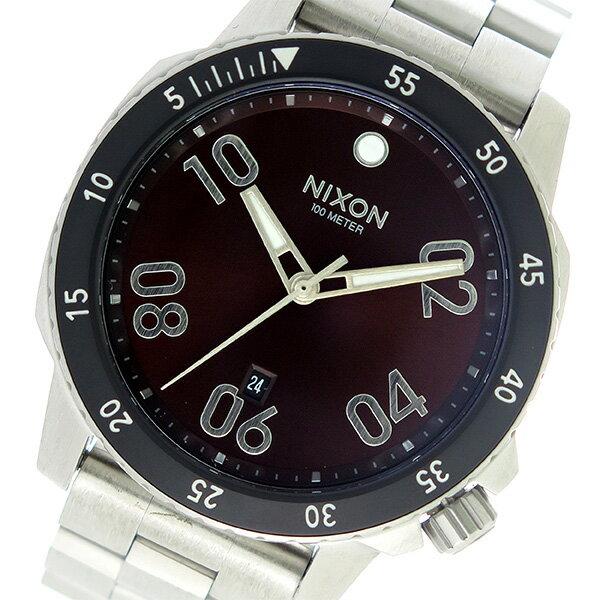 ニクソン NIXON レンジャー RANGER クオーツ メンズ 腕時計 A506-2097 ブラウン/シルバー【送料無料】【楽ギフ_包装】