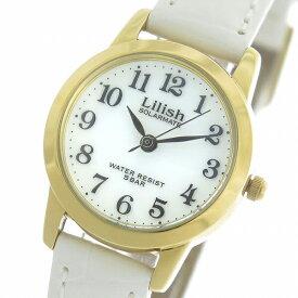 シチズン CITIZEN リリッシュ LILISH ソーラー クオーツ レディース 腕時計 時計 H049-114 ホワイト/ホワイト【S1】