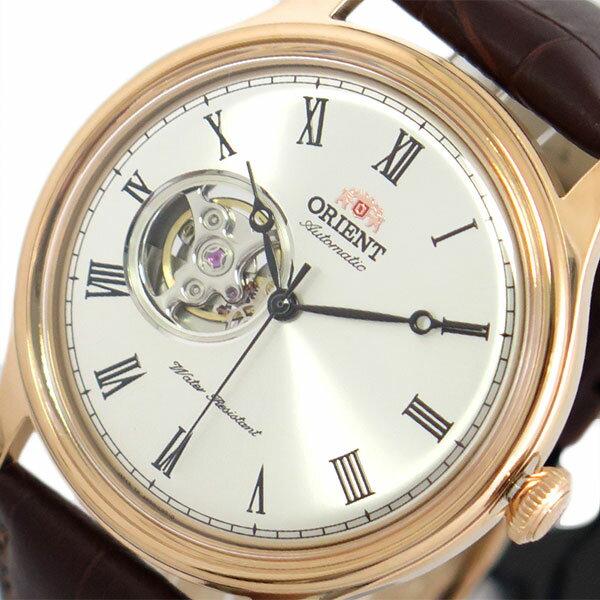 オリエント ORIENT 腕時計 メンズ SAG00001S0-B 自動巻き シルバー ブラウン【送料無料】【楽ギフ_包装】