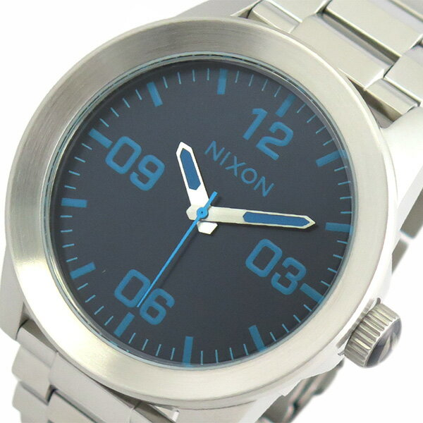 ニクソン NIXON 腕時計 メンズ A3462219 クォーツ ブルー シルバー【送料無料】【楽ギフ_包装】