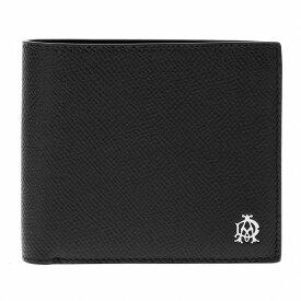 ダンヒル DUNHILL 二つ折り財布 メンズ L2AC32A ブラック【送料無料】