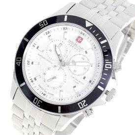 スイスミリタリー SWISS MILITARY 腕時計 メンズ ML-321 クォーツ オフホワイト シルバー【送料無料】