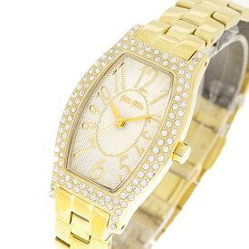 フォリフォリ FOLLI FOLLIE 腕時計 レディース WF5G084BPS XX クォーツ パールホワイト イエローゴールド【送料無料】