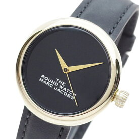 マークジェイコブス MARC JACOBS 腕時計 レディース MJ0120179282 THE ROUND WATCH クォーツ ブラック【送料無料】