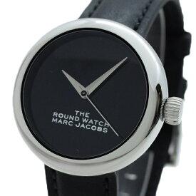 マークジェイコブス MARC JACOBS 腕時計 レディース MJ0120179281 THE ROUND WATCH クォーツ ブラック【送料無料】
