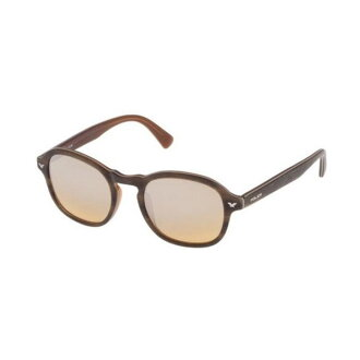 警察POLICE MASTER1太陽眼鏡S1951M-NKCX 50黄褐色木材