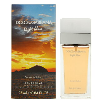 Dolce & Gabbana light blue sunset Inn Salina perfume 3336-DG-25