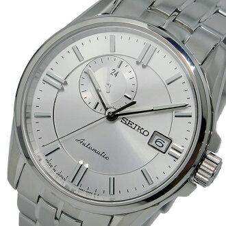 精工SEIKO puresaju自動卷人手錶SSA127J1銀子