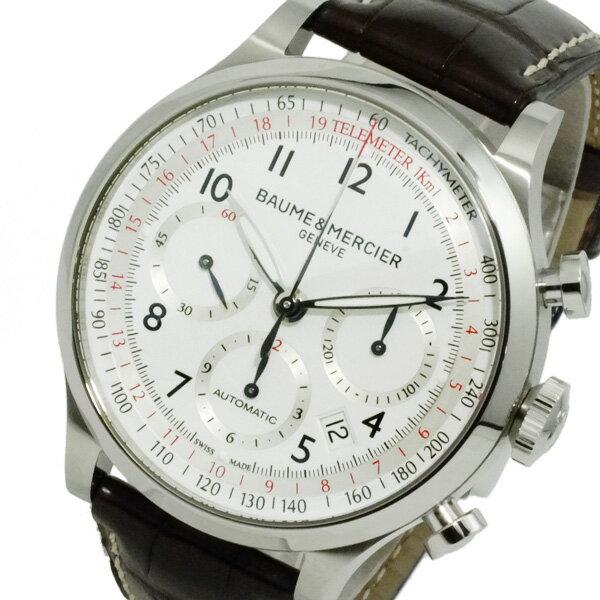 ボーム&メルシェ ケープランド 自動巻き メンズ クロノ 腕時計 MOA10041【送料無料】【楽ギフ_包装】