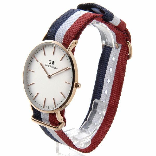 ダニエル・ウェリントン Daniel Wellington 腕時計 ウォッチ 0103DW クラシック ケンブリッジ クオーツ メンズ レディース【送料無料】
