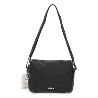 Kipling Kipling K15824 92G shoulder bag /DELPHIN N SS/BLACK PERFO