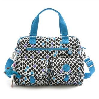 Kipling Kipling K13380 B08 ALBAN QVC Floral Leopard shoulder bag