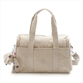 Kipling Kipling K15294 97 W PRACTI COOL Caffe Latte N 2way mini Boston bag