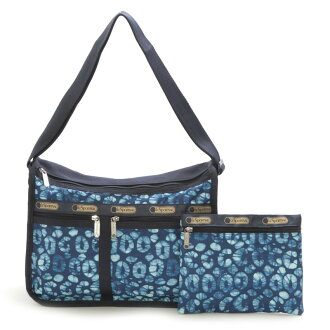 沒有LeSportsac的端口套子7507-D578 Deluxe Everyday Bag(高級每天包)Tulum/挎包
