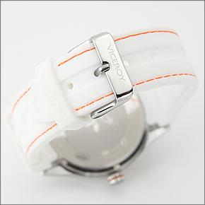 バーセロイメンズ腕時計FUNCOLORSPOPカラー使いの差し色。デカ系ダイバーズウオッチVC-432049-95