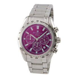 サルバトーレ・マーラ Salvatore Marra SM18106-SSBKSV メンズ 腕時計 クロノグラフ【送料無料】