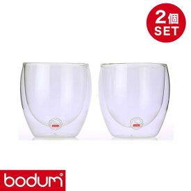 bodum ボダム ダブルウォールグラス 2個セット 0.08L PAVINA 4557-10US【送料無料】