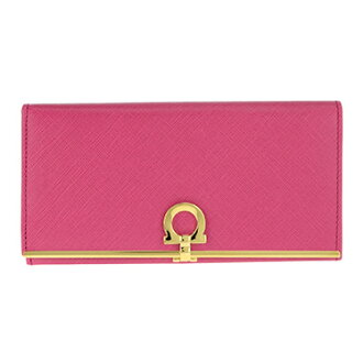 Salvatore Ferragamo Ferragamo 4633 CALF/AGATA ROSA wallet ladies wallets
