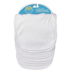 Neat Solutions ニートソリューション 乳児用よだれかけ「インファント ビブ10枚入」 ホワイト 10枚