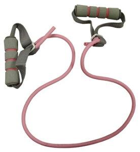 トータルフィットネス(Total Fitness) ボディケア ハンドル付トレーニングチューブ 弱 STT158