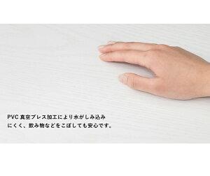 ドレッサーコスメテーブルメイク台化粧台鏡台鏡ミラー一面ドレッサーテーブルローテーブルセンターテーブルホワイト(代引不可)【送料無料】【smtb-f】