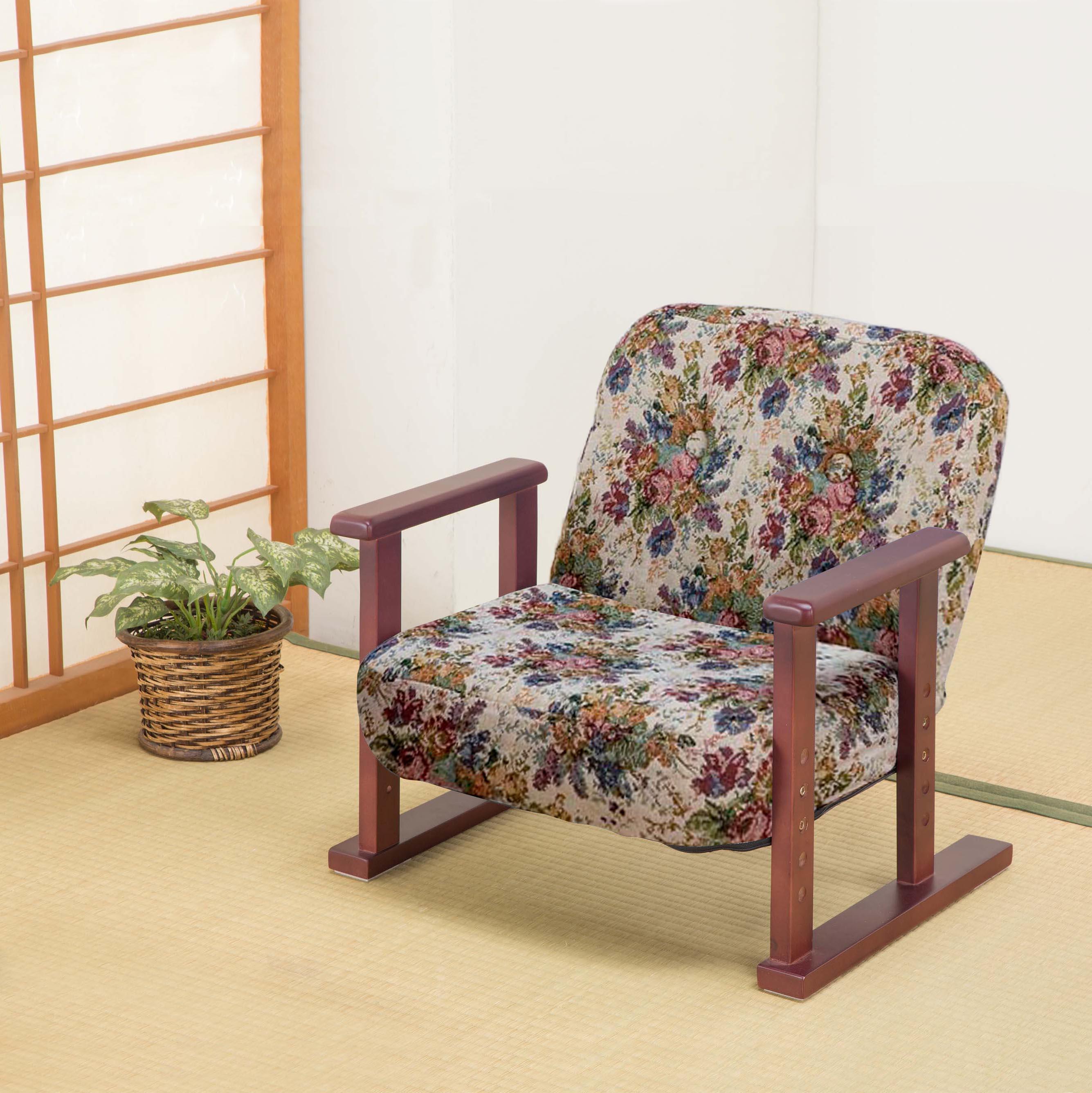 リクライニングお座敷座椅子 SP-010(代引不可)【送料無料】【chair0901】