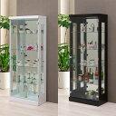 コレクションラック 幅60cm×奥行30cm×高さ150cm コレクションケース コレクションボード 飾り棚 ガラス棚 ショーケ…