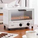 オーブントースター 温度調節 1000W 2枚焼き トースト 食パン 朝食 トースター 1人暮らし 新生活 シンプル【送料無料】