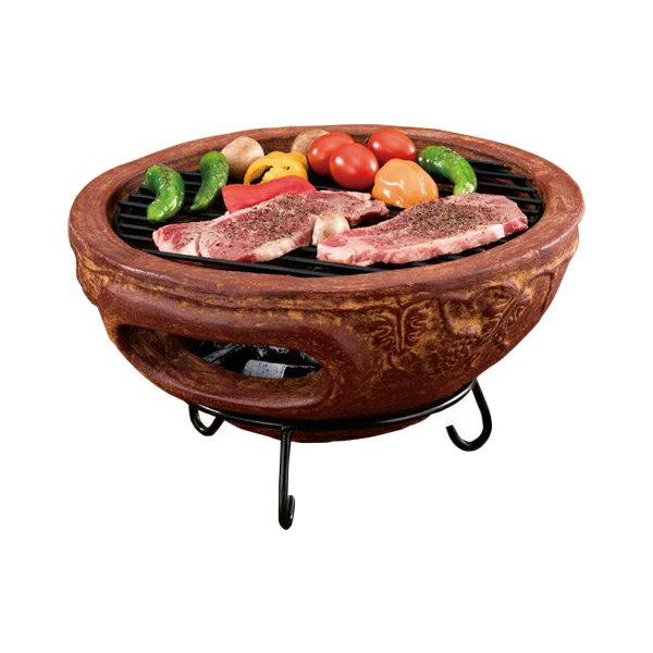 テーブルチムニー メキシコ製 MCH4426 チムニー ガーデンストーブ BBQ ホームパーティー 窯 ピザ焼き【送料無料】