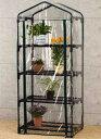 ビニール温室用カバー 4段 植物を守る ビニールハウス フラワーラック OST2-CV4G
