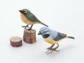 ウッドカービングA 小鳥(しな) 31000