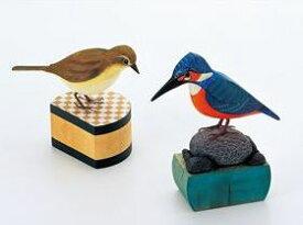 ウッドカービングE 小鳥(しな) 31004