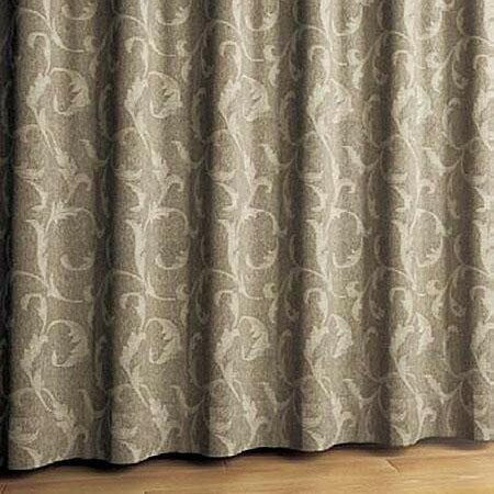 DF1226 川島織物セルコン 既製カーテン ジャズ 100×178cm ブラウン(代引き不可)