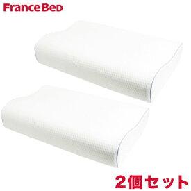 お得な2個セット フランスベッド 枕 rexa×FranceBed マカロン枕 マカロンスプリング まくら【送料無料】