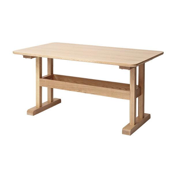 ダイニングテーブル テーブル カフェテーブル 北欧 おしゃれ 天然木 木製 カバーリングソファ【marc】マルク ダイニングテーブル 単品【送料無料】(代引不可)