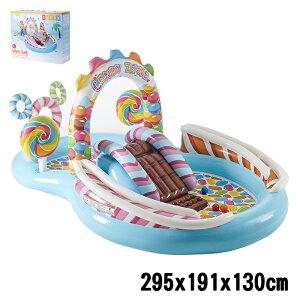 INTEX インテックス プール ビニールプール ファミリープール 大型プール 295×191×130cm 57149 intex すべり台 庭 幼児 子供用【送料無料】