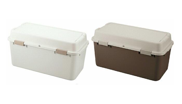 日本製 収納ボックス ストッカー コンテナボックス フタ付き 2個セット プラスチック 屋外 ガーデニング アウトドア キャンプ (代引不可)【送料無料】