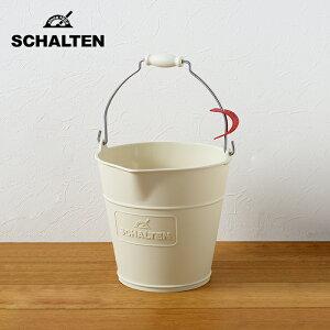 SCHALTEN シャルテン バケット 10リットル ワイド バケツ おしゃれ 掃除用品 掃除道具 おそうじ 大掃除 シンプル