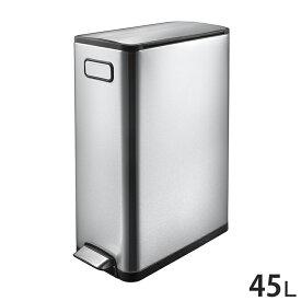 EKO エコフライ ステップビン 45L ステンレス ゴミ箱 ごみ箱 1年保証 ダストボックス キEK9377MT-45L【ポイント20倍】【送料無料】