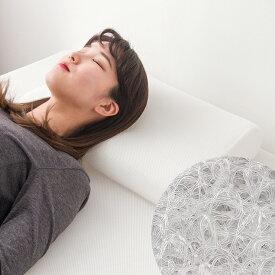 まくら E-CORE 両端硬めまくら くぼみあり 高反発 洗える 寝具 アトピー 快眠 安眠 枕 ピロー【送料無料】